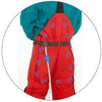 Дополнительная вентилляция для защитных брюк TST