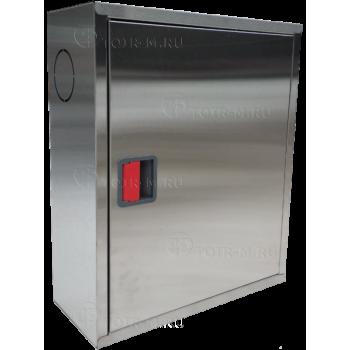 Пожарный шкаф ШПК-310 НЗ (навесной, закрытый, нержавеющая сталь)
