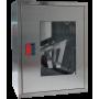 Пожарный шкаф ШПК-310 НО (навесной, открытый, нержавеющая сталь)