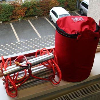 Лестница навесная спасательная пожарная Самоспас 3