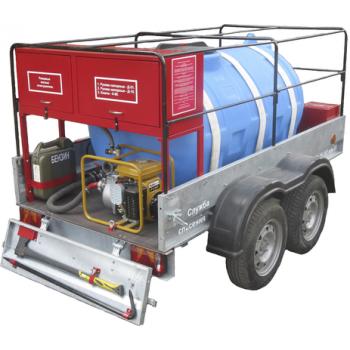 Огнеборец 1200Д Пожарно-спасательный комплекс / пожарный прицеп