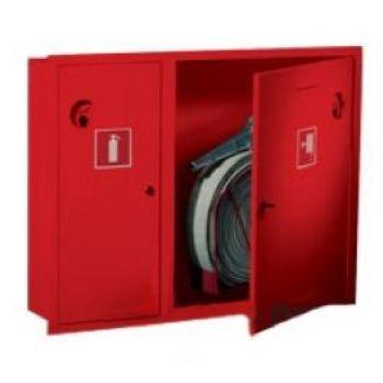 Пожарный шкаф ШПК-315 ВЗК (встроенный, закрытый, красный)