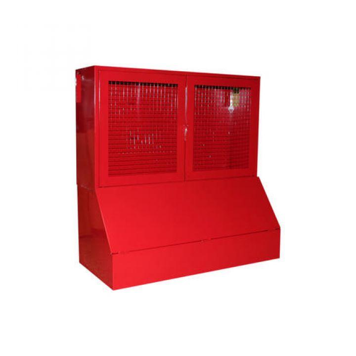 """Щит пожарный металлический закрытого типа с ящиком для песка 0.3 м3 """"Т"""""""