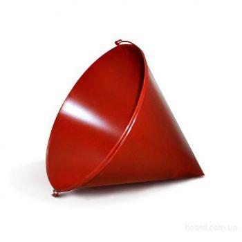 Ведро пожарное конусное красное