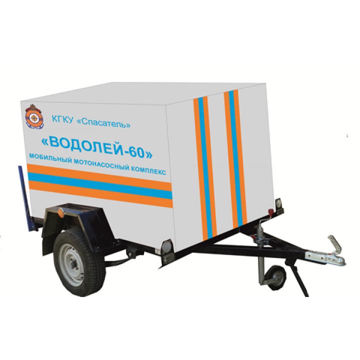 Комплекс мобильного мотонасосного Водокачка 200