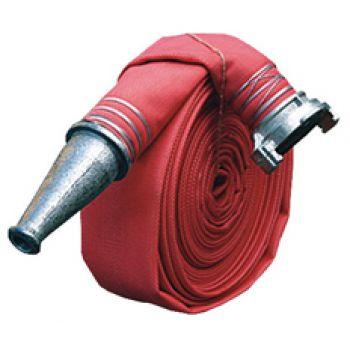 Рукав пожарный латексированный 100 мм с головками ГРВ-100