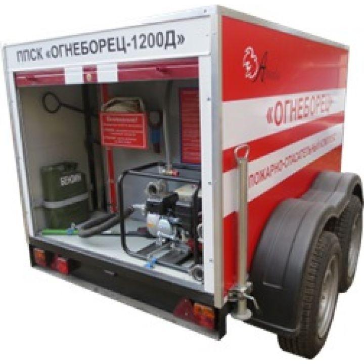 Комплекс передвижной механизированный пожарно-спасательный Огнеборец 1200Д-03