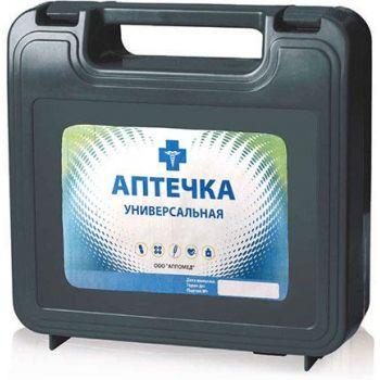 Аптечка первой помощи универсальная (пластиковый чемоданчик) (на 5-7 человек)