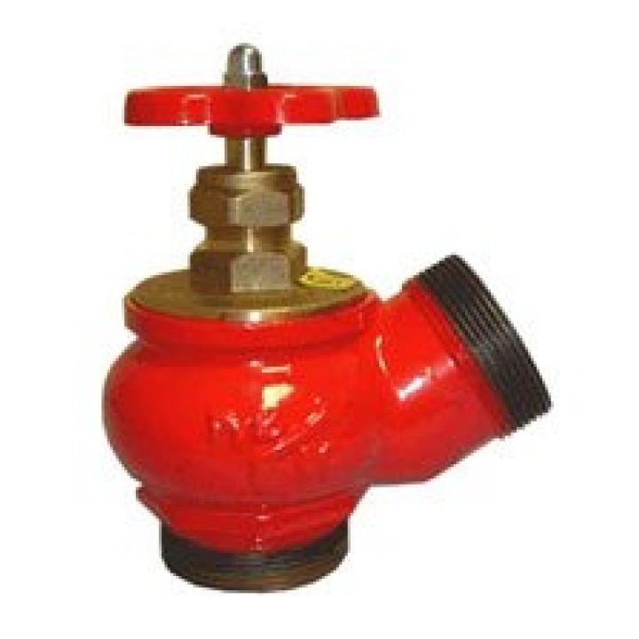 КПЧ 65-2 Клапан пожарный чугунный 125° цапка-цапка 65мм
