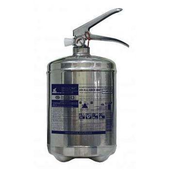 ОП-3 АВСЕ Огнетушитель МИГ (1А,34В,С,Е) баллон 3,8л, нержавеющая сталь