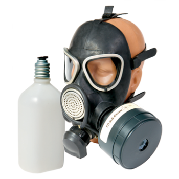 Противогаз ГП-9В гражданский фильтрующий (МП-04 с ФПК ГП-9кБ-Оптим-360 с ТРГ)