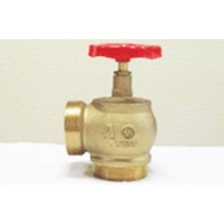 КПЛМ 65-2 Клапан пожарный латунный 90° цапка-цапка 65мм
