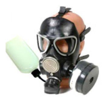 Противогаз ГП-7БВ гражданский фильтрующий (МП-07В с ФПК ГП-7кБ-Оптим) с флягой