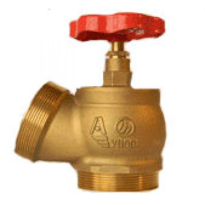 КПЛ 50-2 Клапан пожарный латунный 125° цапка-цапка 50мм