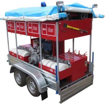 Огнеборец - 570Д-05.02 с пожарной мотопомпой Гейзер 20/100 Пожарно-спасательный комплекс