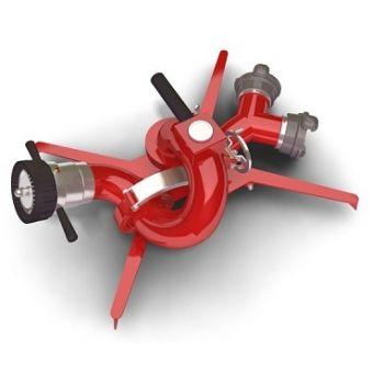 Лафетный ствол ЛС-П40У - ANTENOR 2000Р пожарный переносной