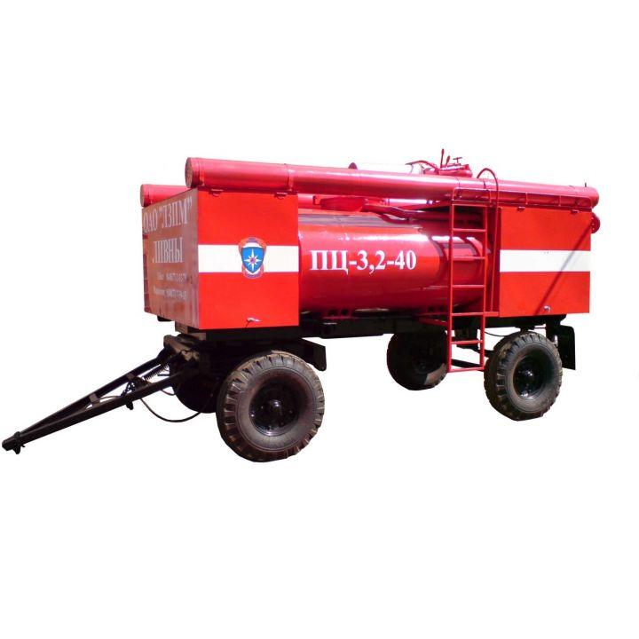 Пожарный прицеп-цистерна ПЦ-3,2-40