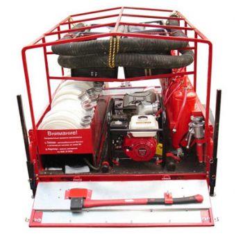 Огнеборец - 570Д-01 Пожарно-спасательный комплекс / пожарный прицеп