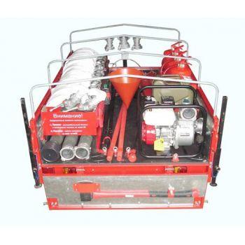 Огнеборец - 570Д-02 Пожарно-спасательный комплекс / пожарный прицеп