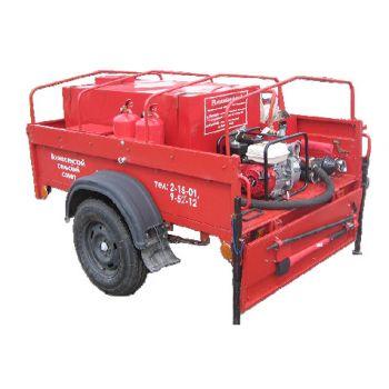Огнеборец - 570Д-03 Пожарно-спасательный комплекс / пожарный прицеп