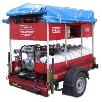 Огнеборец - 570Д-05 Пожарно-спасательный комплекс / пожарный прицеп
