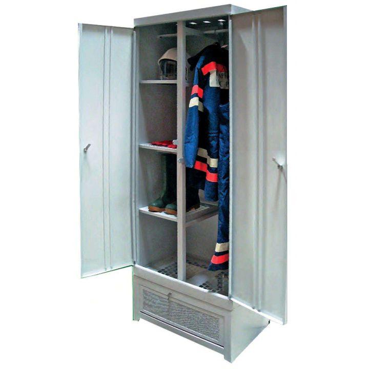 Шкаф сушильный для боевой одежды пожарного и снаряжения ПТС-74.00.501.